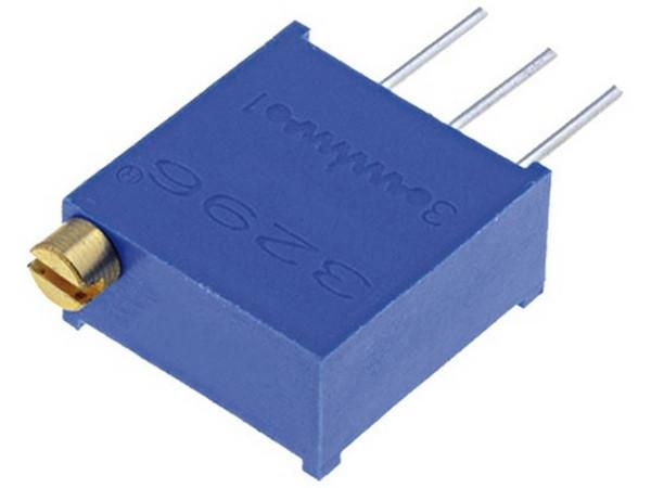 Резистор подстроечный 50 кОм 3296W многооборотный