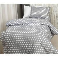 Комплект постельного белья Капельки, ранфорс  Lux, разные размеры