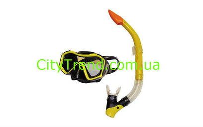 Набор для плавания маска трубка ZEL