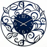 Металлические настенные часы Caprice (синие)