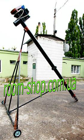 Шнековый перегрузчик (погрузчик, транспортер) диаметром 133 мм, длиною 4 метра, фото 2