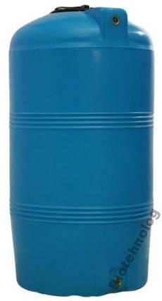 Дарим 65 грн на доставку. Бак, бочка, емкость 250 литров пищевая вертикальная 200 300 V, фото 2