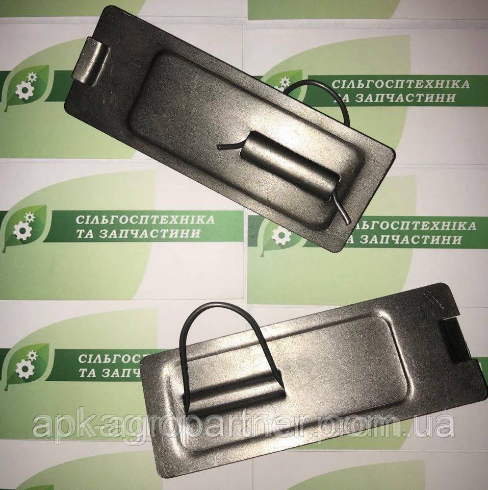 Заслонка ящика зернотукового сеялки зерновой СЗГ 00.150А (некрашеная)