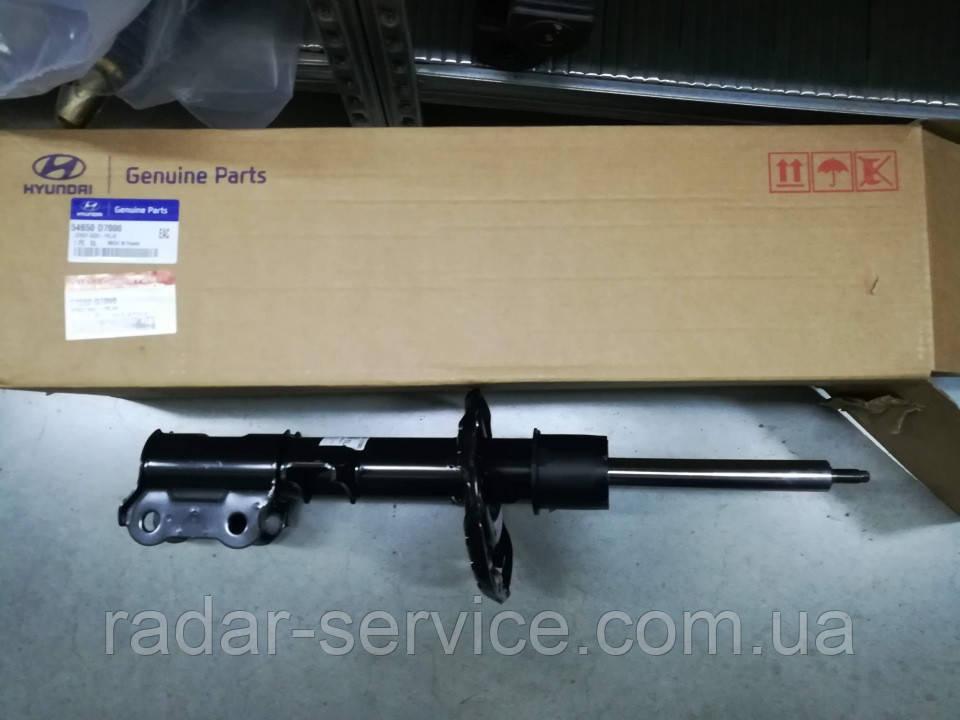 Амортизатор передний левый киа Спортейдж 4, KIA Sportage 2018- Qle, 54650d7000