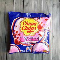 Леденцы на палочке Chupa Chups Big Babol с жевательной резинкой 30шт