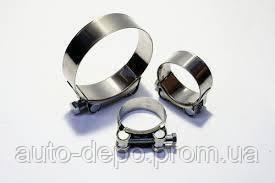 Хомут металлический усиленный (Хомут металевий посилений) 113-121 мм