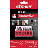 Набор бит Stomer BS-6-25, фото 1
