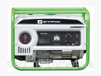 Бензиновий генератор Элпром ЭБГ-2500