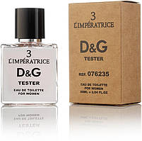 Туалетная вода Dolce&Gabbana L`imperatrice 3 EDP 50ML Orign Tester, эко упаковка