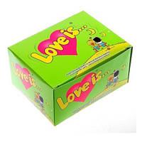 Жевательная резинка Love is... Яблоко - Лимон
