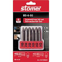 Набор бит Stomer BS-6-50