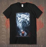 Полноценная цифровая печать на футболках
