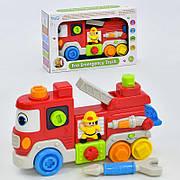 Развивающая музыкальная игрушка-конструктор для малышей WD 3725 на батарейке, звук, свет