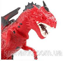 Игрушка дракон на радиоуправлении Same Toy Dinosaur Planet RS6159A (красный), фото 3