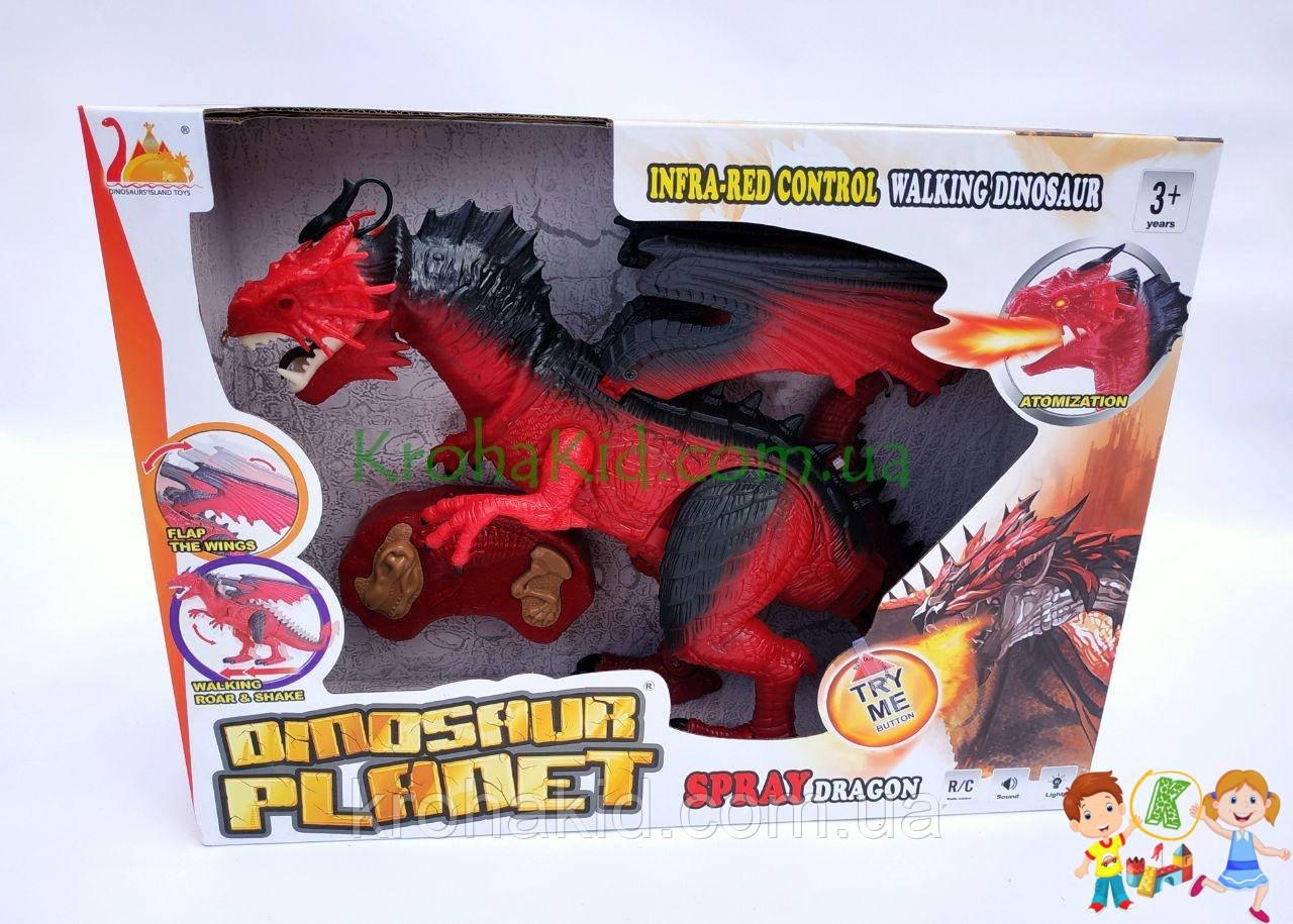 Игрушка дракон на радиоуправлении Same Toy Dinosaur Planet RS6159A (красный)