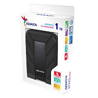 НЖМД ADATA 2.5 USB 3.0 1TB HD710 Pro Durable Black (AHD710P-1TU31-CBK)