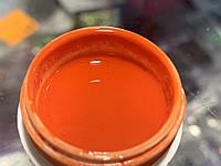 Гель краска Eva nails   оранжевая 5 мл без липкого слоя