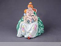 Статуэтка Мама с младенцем 25 см фарфор