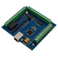 4-осевой контроллер шаговых двигателей ЧПУ 100кГц (z00233)