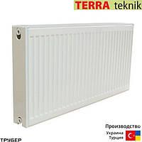 Стальной радиатор 22 тип 500*3000 Terra Teknik боковое подключение