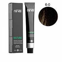 Краска для волос без аммиака Nirvel Nature 6-0 100 мл