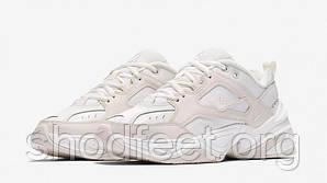 Женские кроссовки Nike M2K Tekno WMNS White Beige