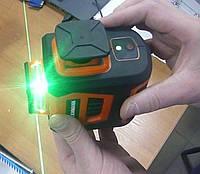 Лазерный 3D уровень Tekhmann TSL-12Green ✷гарантия 2 года✷✷алюминиевый кейс✷✷точность 1мм/10м✷, фото 1