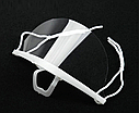 Маска для татуажа пластиковая, многоразовая, прозрачная, фото 6