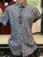 Стильные хлопковые турецкие мужские рубашки сорочки Bagarda , фото 1