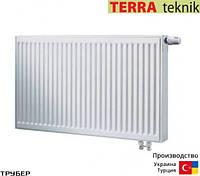 Стальной радиатор 22 тип 500*1200 Terra Teknik нижнее подключение