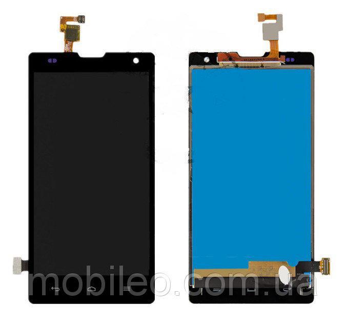 Дисплей (LCD) Huawei Honor 3C   H30-U10 с тачскрином, чёрный