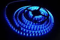 Лента светодиодная  синяя S3528-120B(W)
