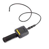"""Технический эндоскоп водонепроницаемый бороскоп  видеокамера гибкая 9мм с ЖК дисплеем 2.4"""""""