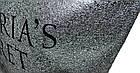 Сумка женская спортивная Victoria's Secret (34x35x22) серебро, фото 4