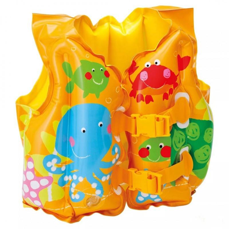 Надувной жилет детский, Intex, 41х30 см.