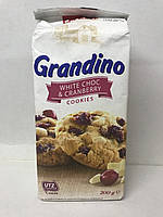 Пісочне печиво з журавлиною і шматочками білого шоколаду