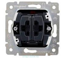Механизм выключателя 2-го кнопочного управление рольставнями Legrand PRO 21