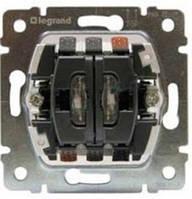 Механизм выключателя 2-го с подсветкой Legrand PRO 21