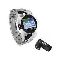 GSM часы-мобильный телефон c bluetooth, 1.3 Mega Pixels камерой и mp3/mp4 плеером (модель MQ888A)