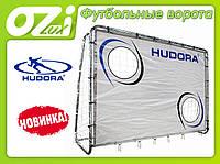 Большые футбольные ворота с экраном 25мм  213х152см. фирмы HUDORA