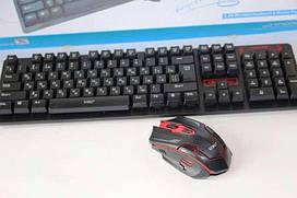 Клавиатура HK6500 беспроводная Русская + мышка с адаптером