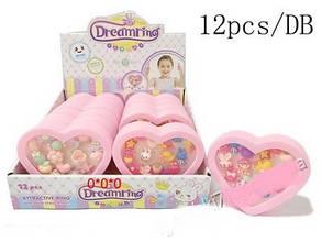 Детская игрушка dream rings (игрушечные детские колечки украшение )