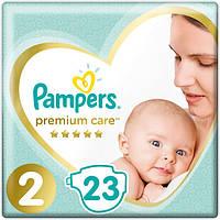 Pampers Premium Care.  Подгузники  Размер 2 (4-8 кг) 23 шт (104652)