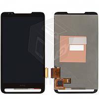 Дисплейный модуль (дисплей + сенсор) для HTC Touch HD2 T8585, оригинал