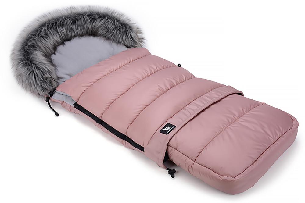 Зимний конверт Cottonmoose Combi 736/111/72/142 pink (розовая пудра)