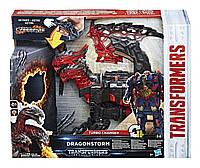 Робот-трансформер, Дрейгонсторм, в 1 шаг - Transformers, Hasbro, The Last Knight, Dragonstorm, Turbo Change