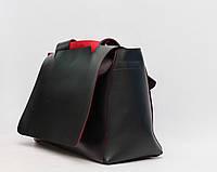 Жіноча сумка  / Стильная женская кожаная (кожа искусственная) сумка