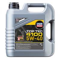 Синтетическое моторное масло Liqui Moly Top Tec 4100 SAE 5W-40   4 л.
