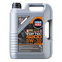 Синтетическое моторное масло Liqui Moly Top Tec 4200 SAE 5W-30 5 л.