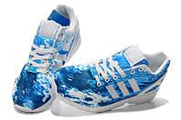 Кроссовки мужские Adidas ZX Flux Sea, фото 1